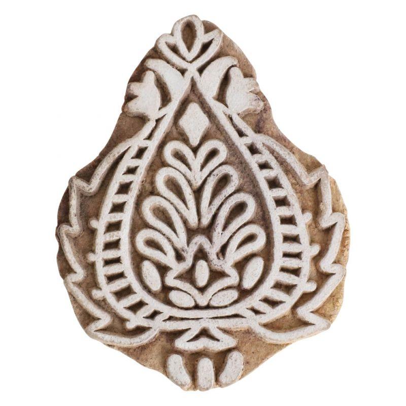 Indischer Holzstempel klein