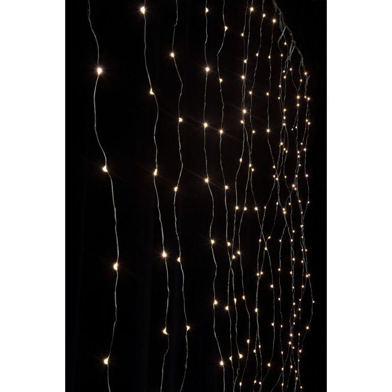 Lichtervorhang Komplettkit Angel Hair 2x2.2m LED