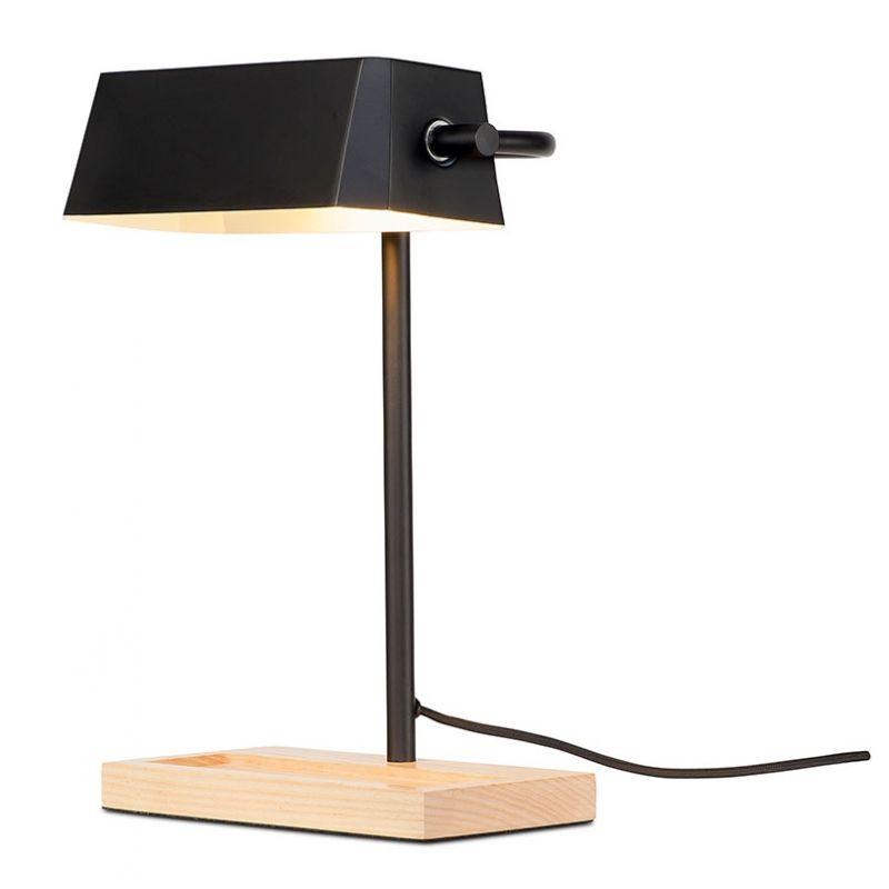 Retro Schreibtischleuchte / Bankerlampe 'Campus', schwarz