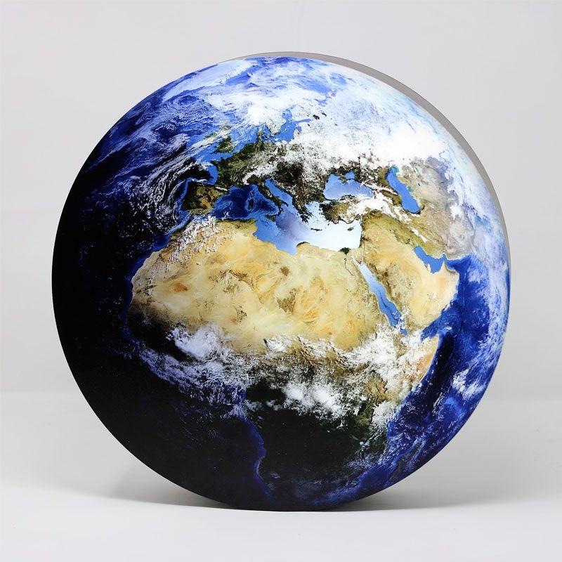 LED-Dekolampe Erde / blauer Planet, klein, Ø35cm