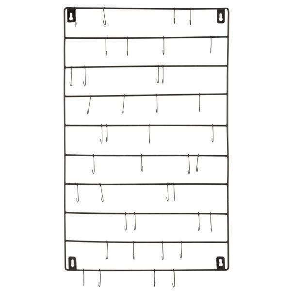Wandhänger mit 40 kleinen Haken